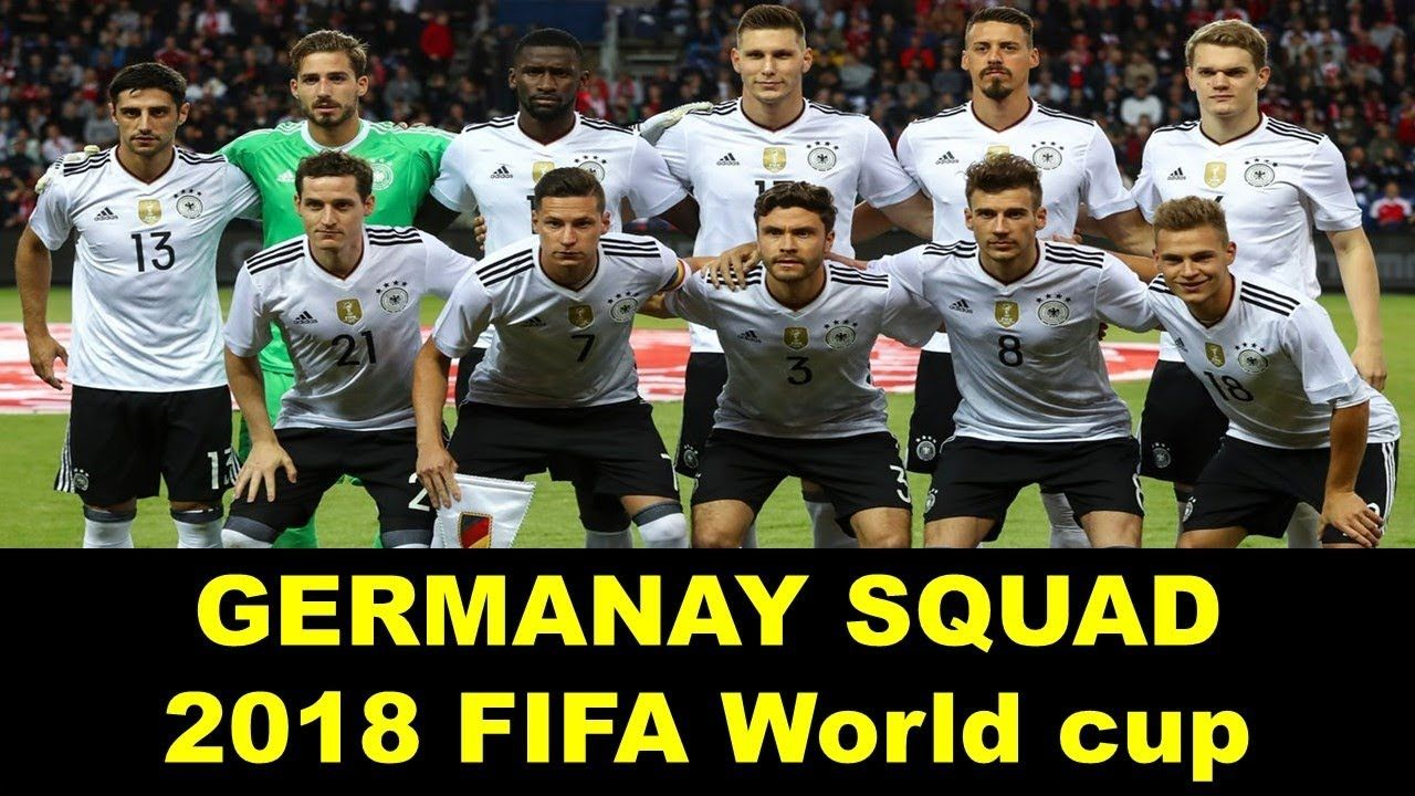 Germany World Cup 2018 Squad Fifaworldcup Fifa2018 2018fifaworldcup Russiaworldcup Football World Cup Germany Football Russia World Cup