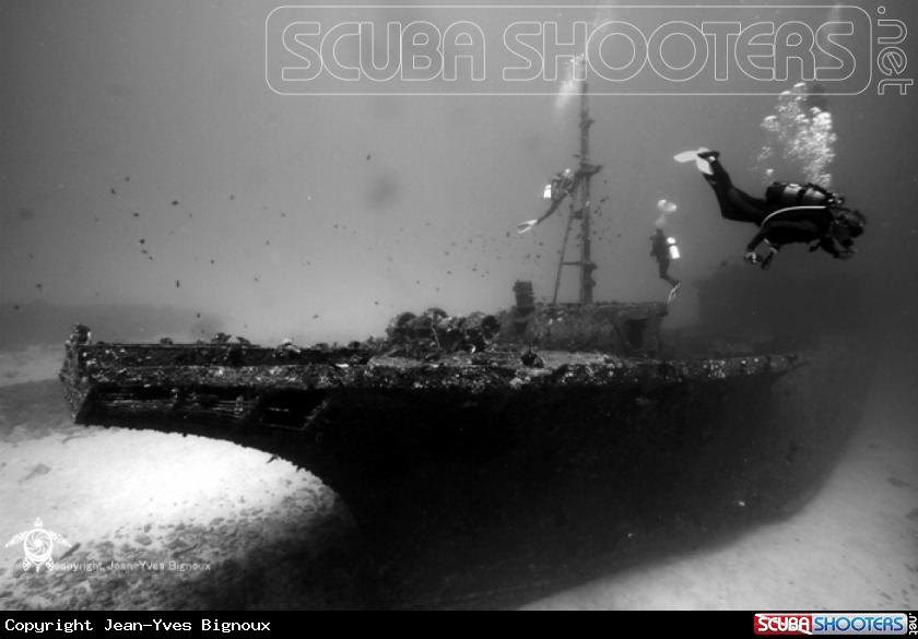 Stella Maru shipwreck 25 m,Mauritius