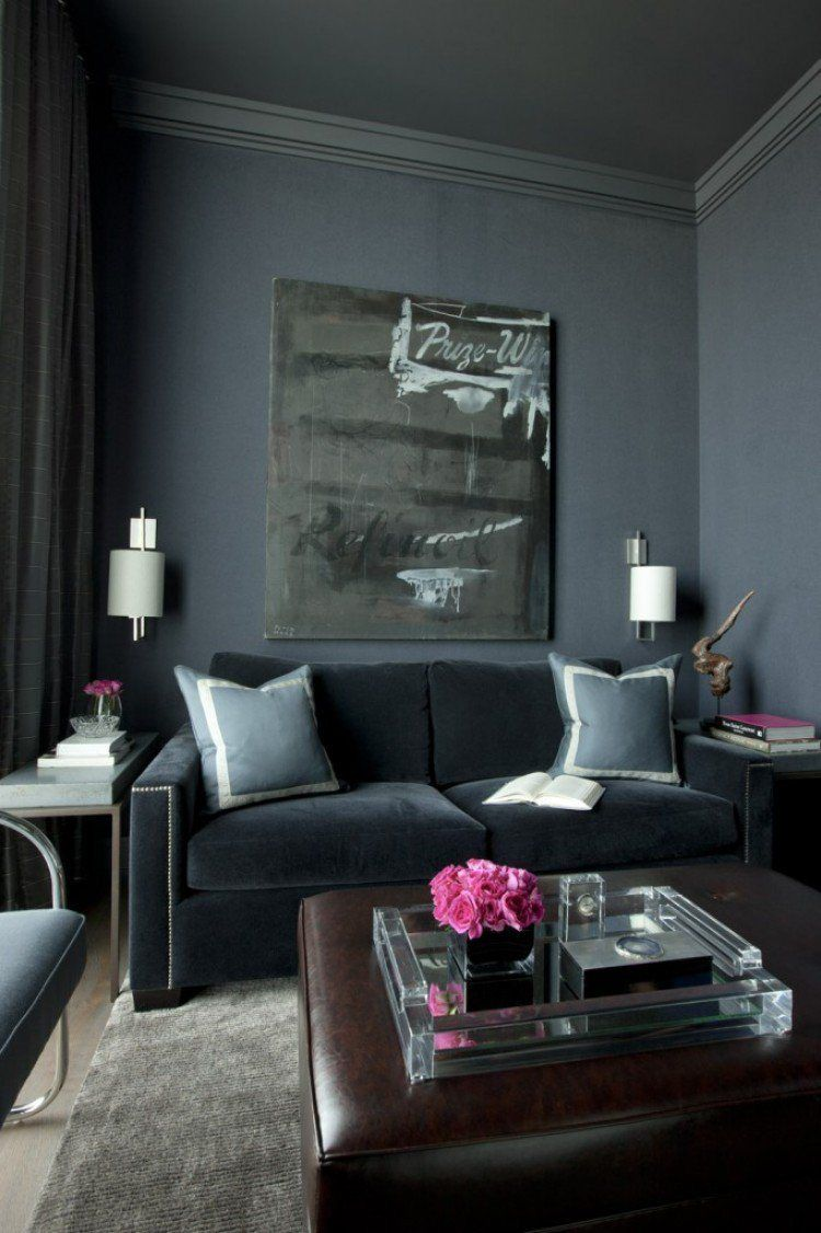 """Love the idea of a room done in all one color. Monochromatic rooms can be """"tres chic"""". Floor to ceiling in one bold color statement. One color matching throughout or shades of a color used to dominate a color scheme packs a powerful design punch."""