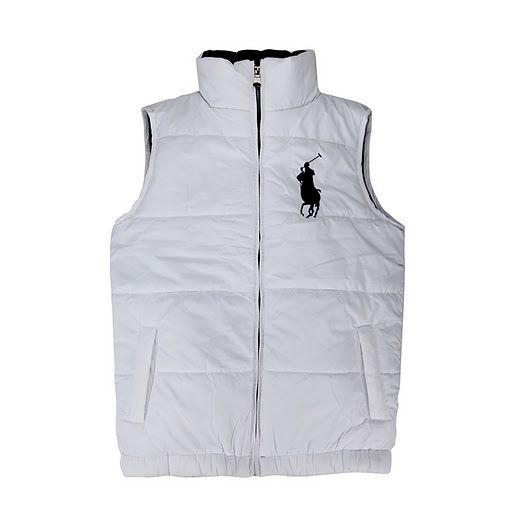 Polo Ralph Lauren Mens Ascender Down Vest White