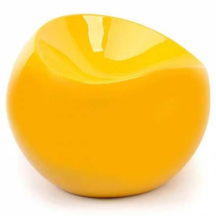 Pouf ball chair jaune XL Boom à voir sur Pouf Design   style pop ...