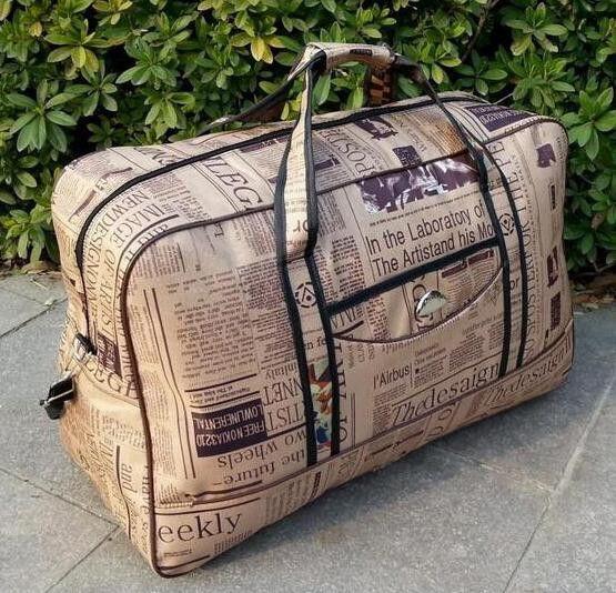 ANAWISHARE Men Travel Bags Large Capacity Women Luggage Travel Duffle Bags Nylon Travel Handbags Big Bags Of Trip Waterproof