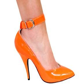 Neon Orange Patent/Neon Orange Pump