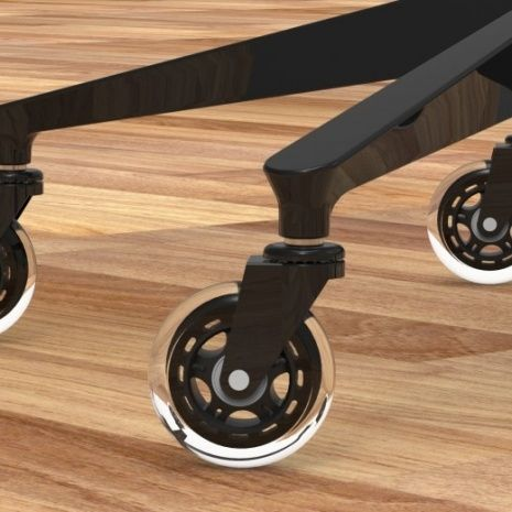 office furniture on wheels. Office Chair With Rollerblade Wheels Furniture On