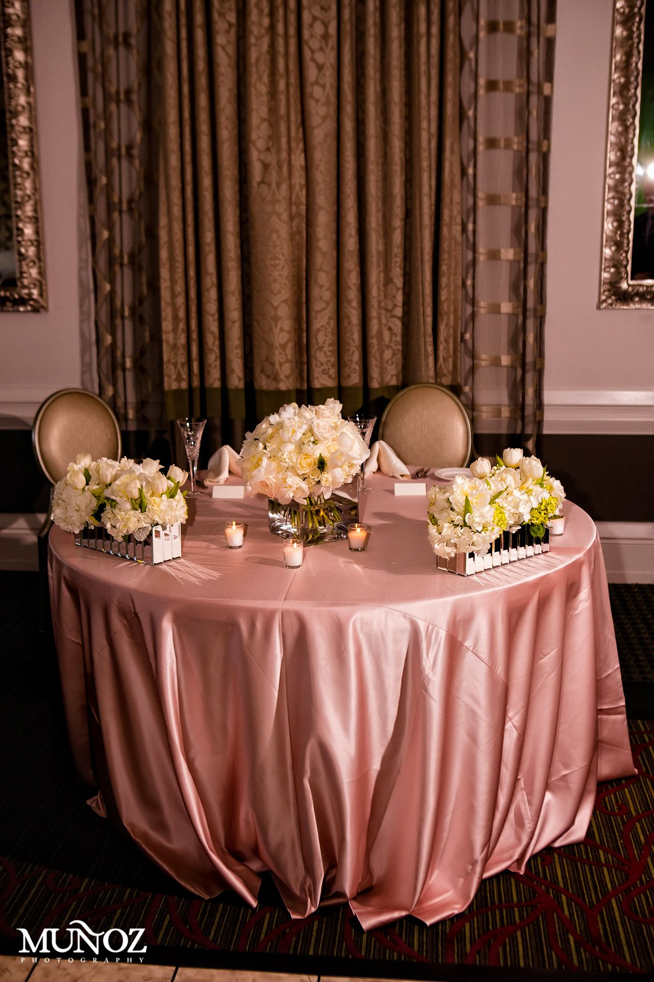 Sweetheart Table Set Up Decor By Conceptbait