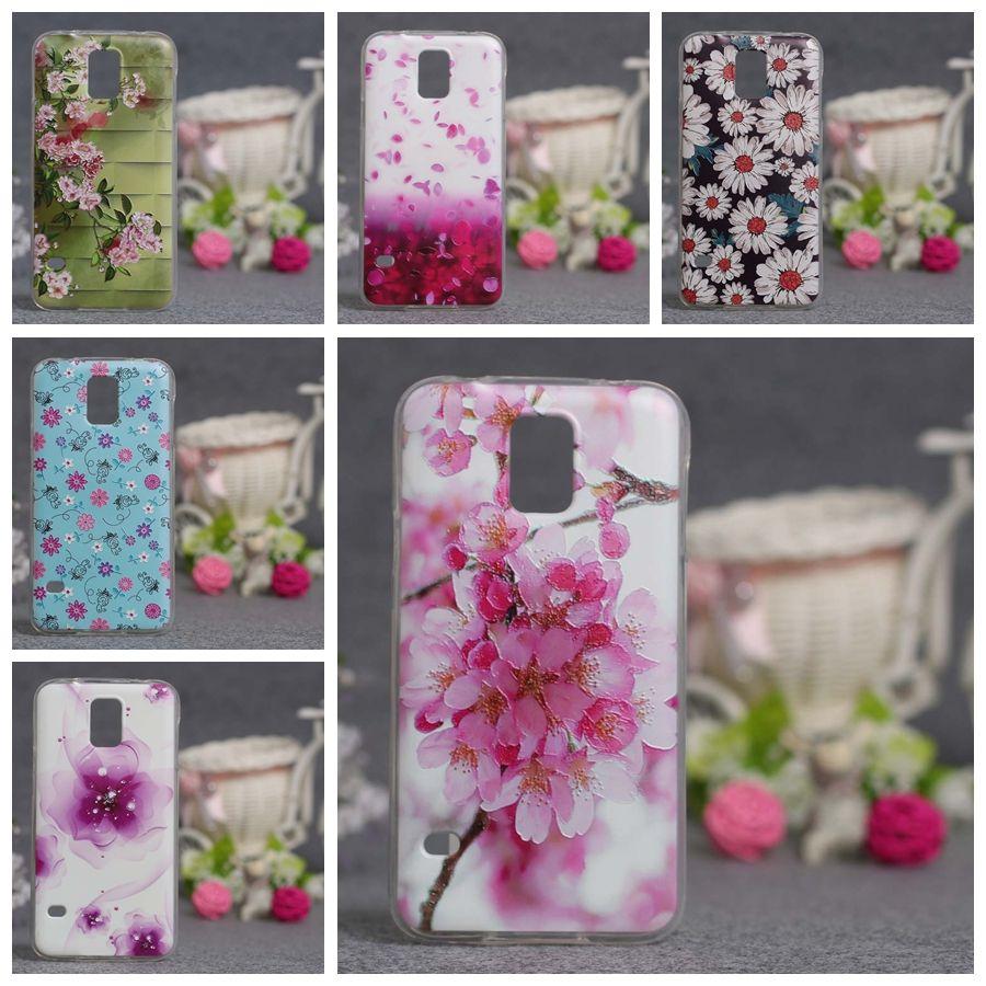 Luxus 3d relief case für samsung s5 telefon case silikon bunte gel kästen weiche tpu abdeckung für samsung galaxy s5 i9600 fundas