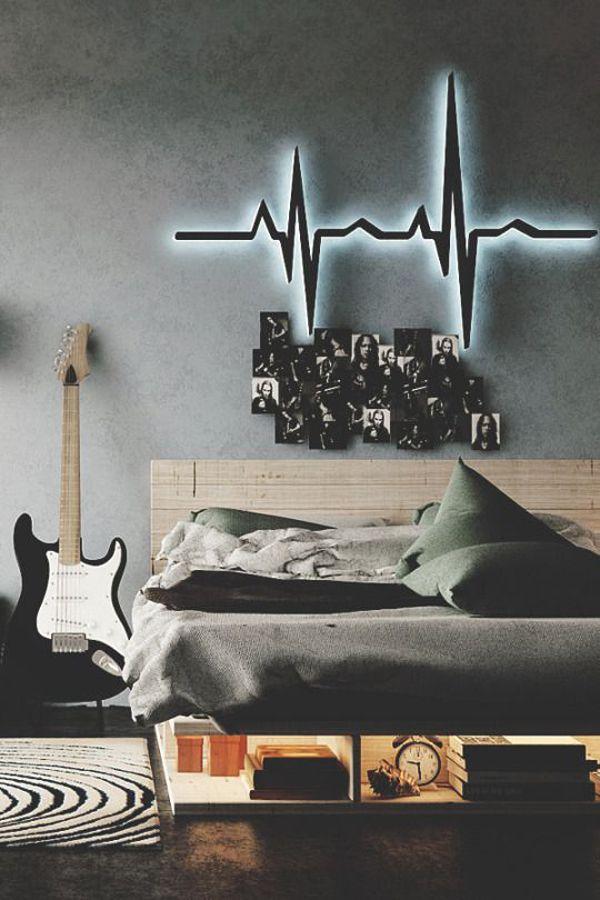 10 Super Cool Music Bedroom For Teenage Boys