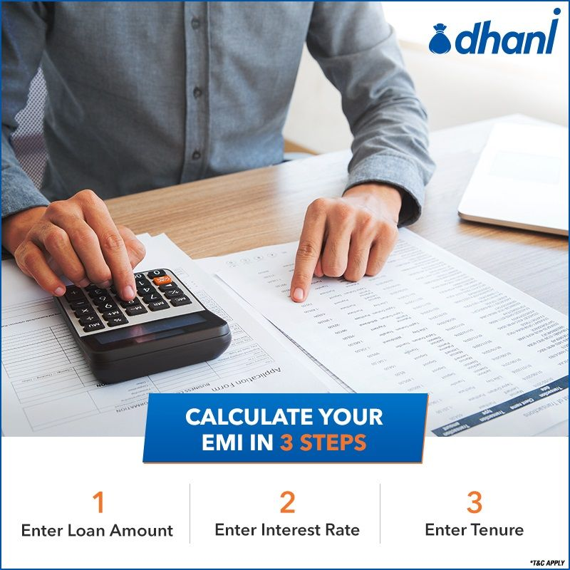 Know Your Monthly Emis With A Personal Loan Emi Calculator Personal Loans Loan Calculator Loan
