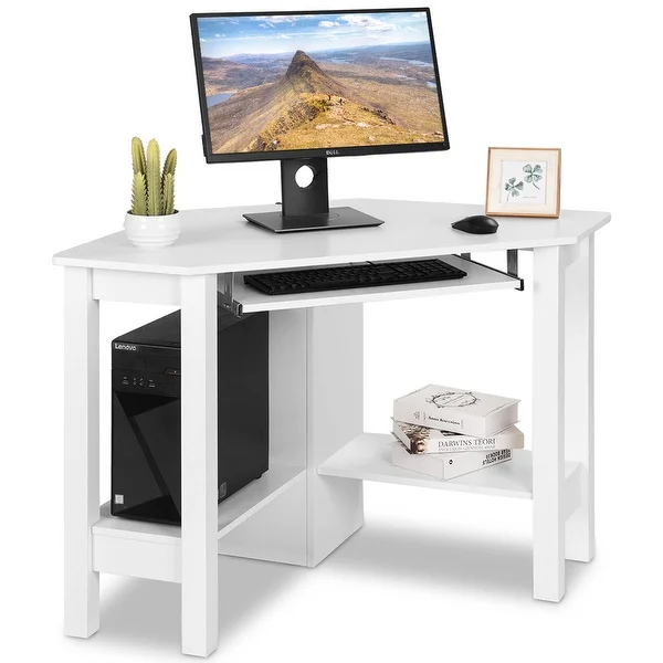 Overstock Com Online Shopping Bedding Furniture Electronics Jewelry Clothing More Wooden Corner Desk Desk With Drawers Small Corner Desk