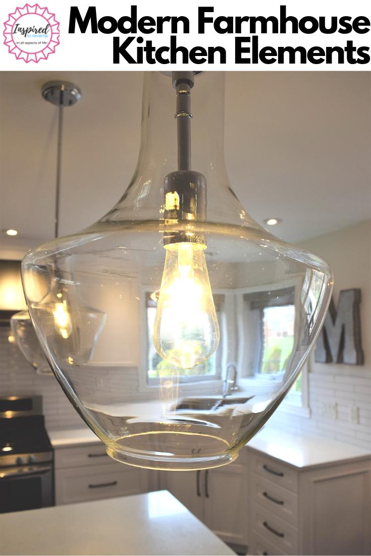 ORC Spring2019-Modern Farmhouse Kitchen Reveal #whiteshakercabinets