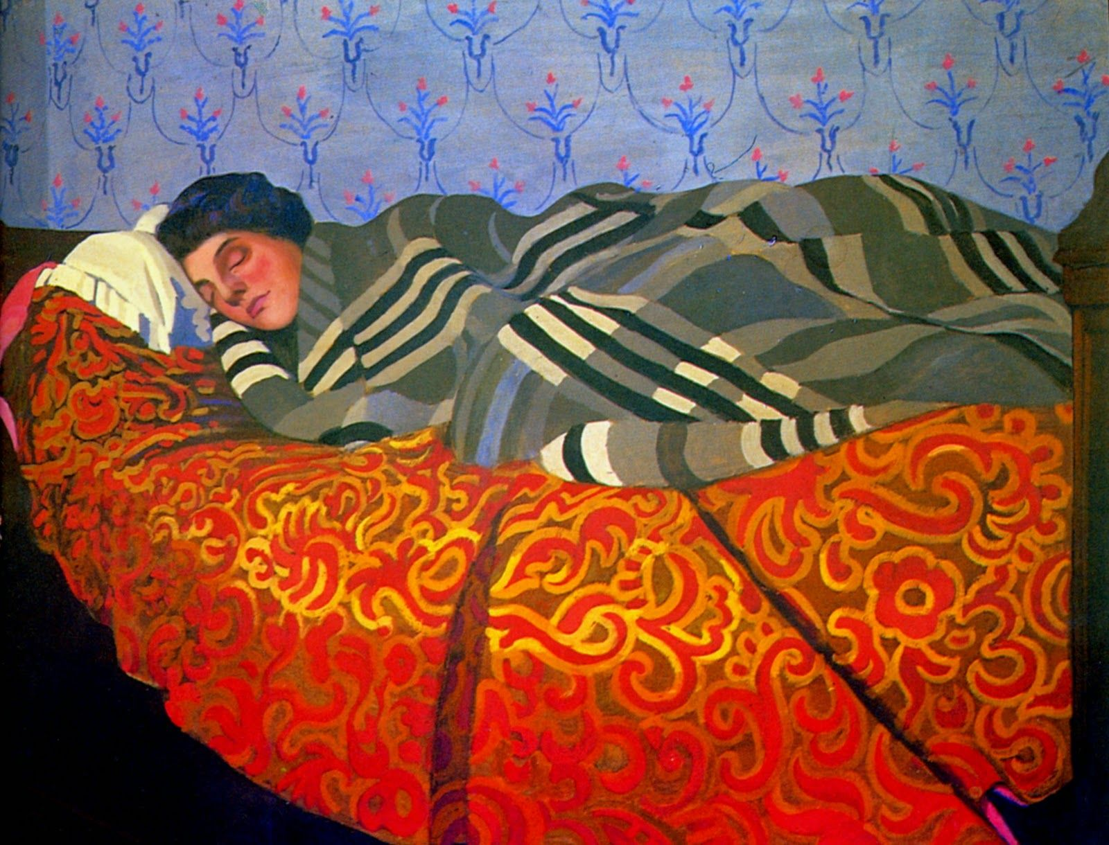 Felix Vallotton 1865 1925 Nabi Painter In 2020 Sleeping Women Art Painting