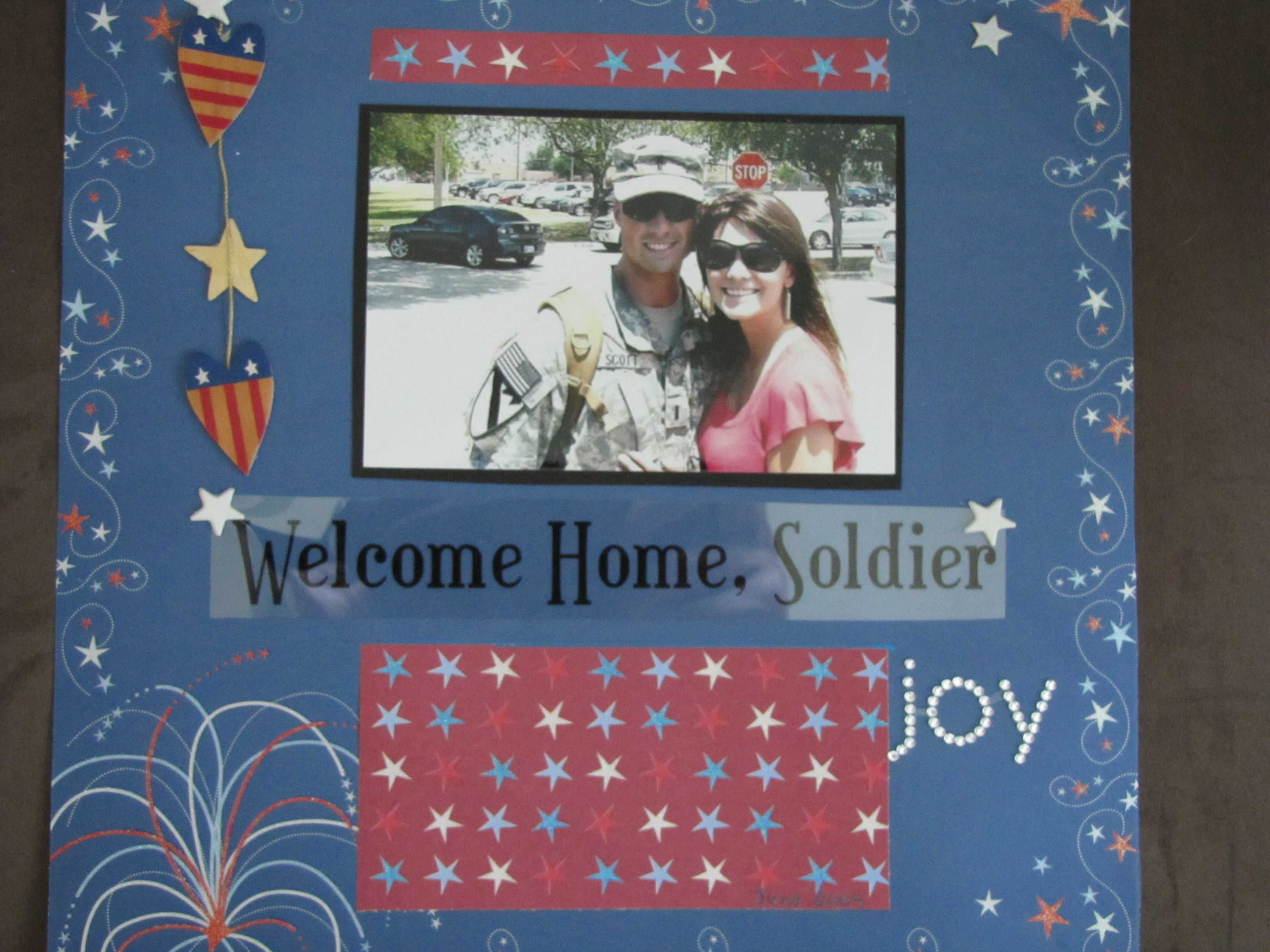Welcome Home Soldier