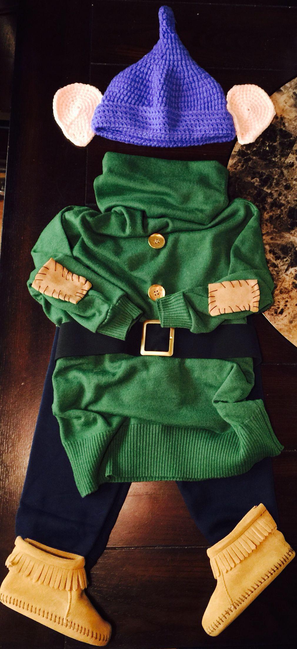 Michael Alexanderu0027s costume baby Dopey DIY & Michael Alexanderu0027s costume baby Dopey DIY | My babies halloween ...