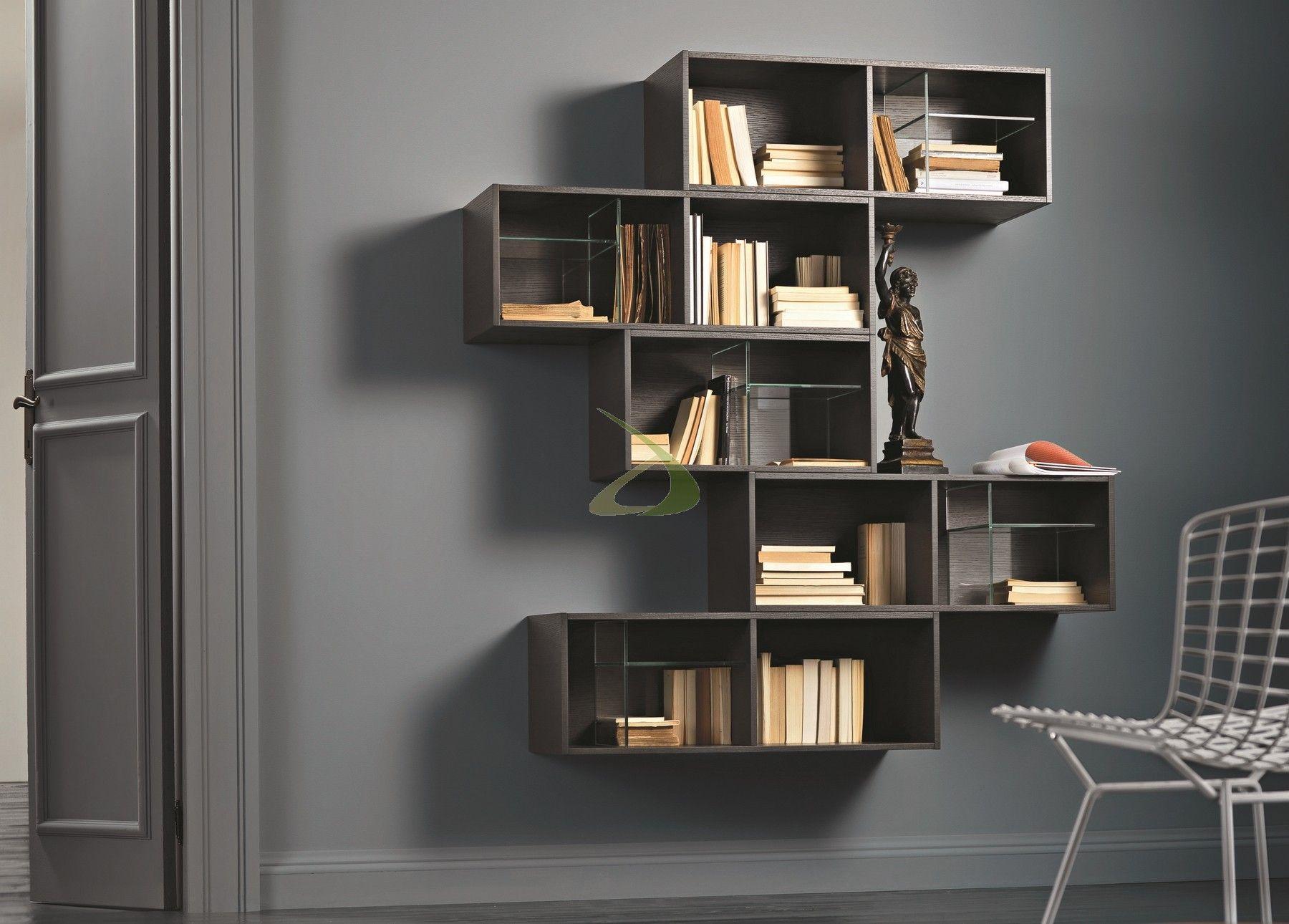 Arredamento libreria ~ Mobile libreria sospesa iles arredo design online home pinterest