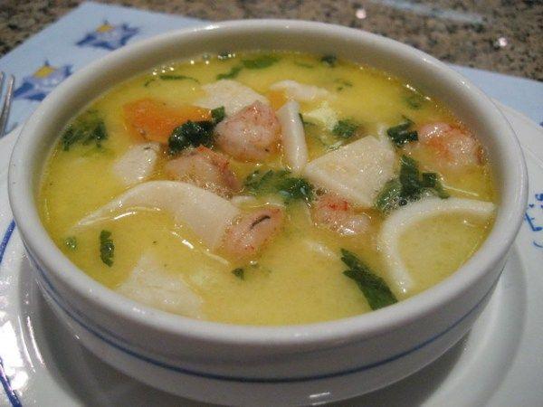 Как готовить суп из морепродуктов