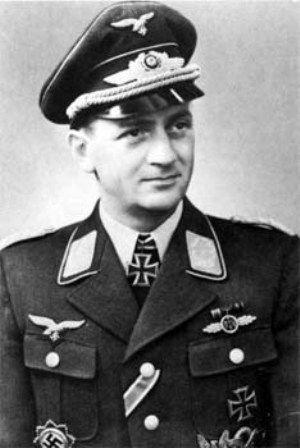 Hauptmann Wilhelm Steinmann Top Luftwaffe Mustang Killer ...