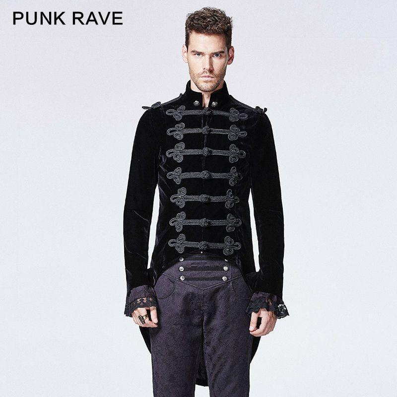 4e983c0c5653d Cheap Nueva punk Rave Gótico Steampunk Estilo Vintage Fashion Visual Kei  Retro Hombres Chaleco Chaqueta Y593