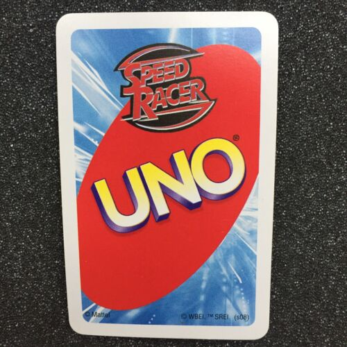 Speed Racer Uno Card Game With Instructions 2007 No Box Ebay In