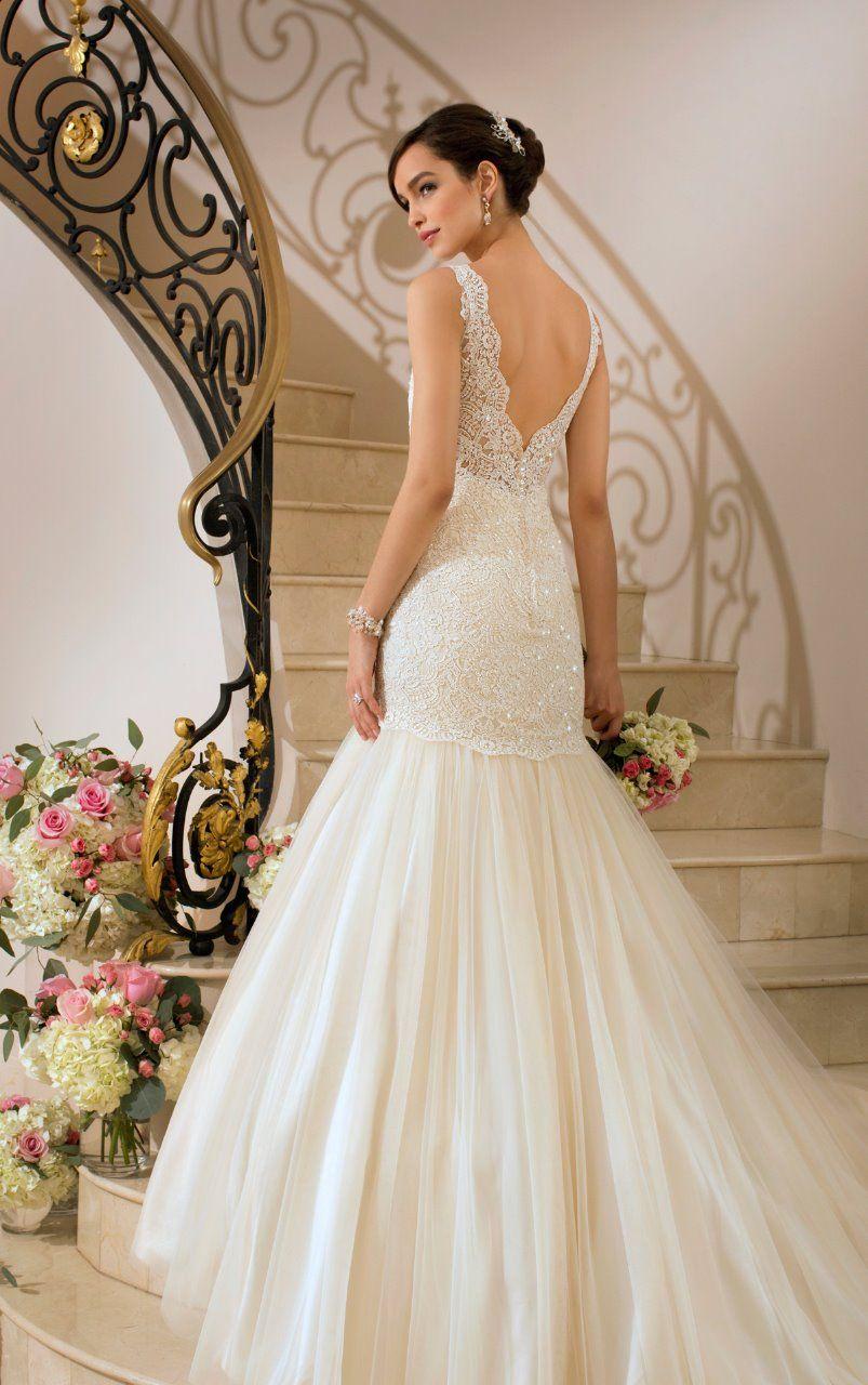 Vestido de novia corte sirena :: Virtual Novia Book   Virtual Novia ...