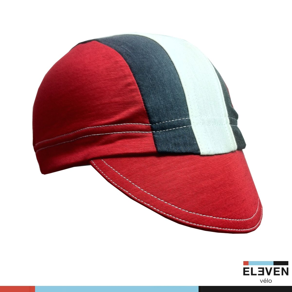 a999b8286b6 Cycling caps and hats  Merino Vélo Cap in Red
