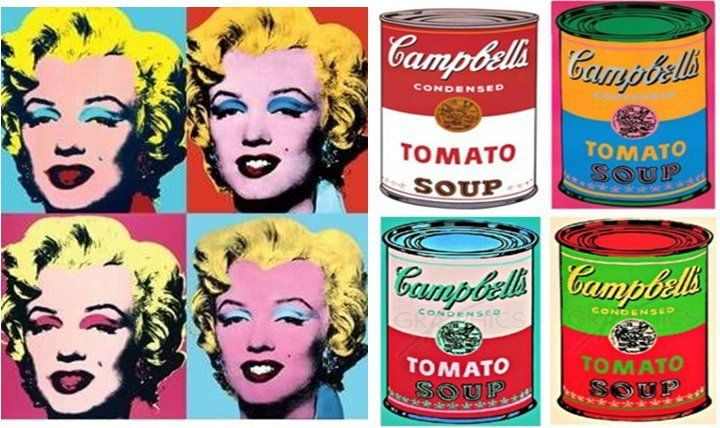 Connu Andy Warhol | Shooting XXème T3// POP ART | Pinterest YP78
