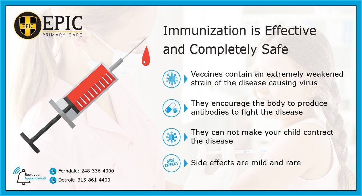 5 Reasons to Immunize Your Child - Infographic   Primary ...