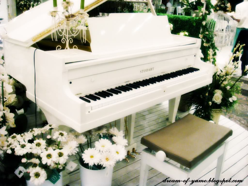 I wanted to have my concert baby grand piano painted white for Decor 2 sell