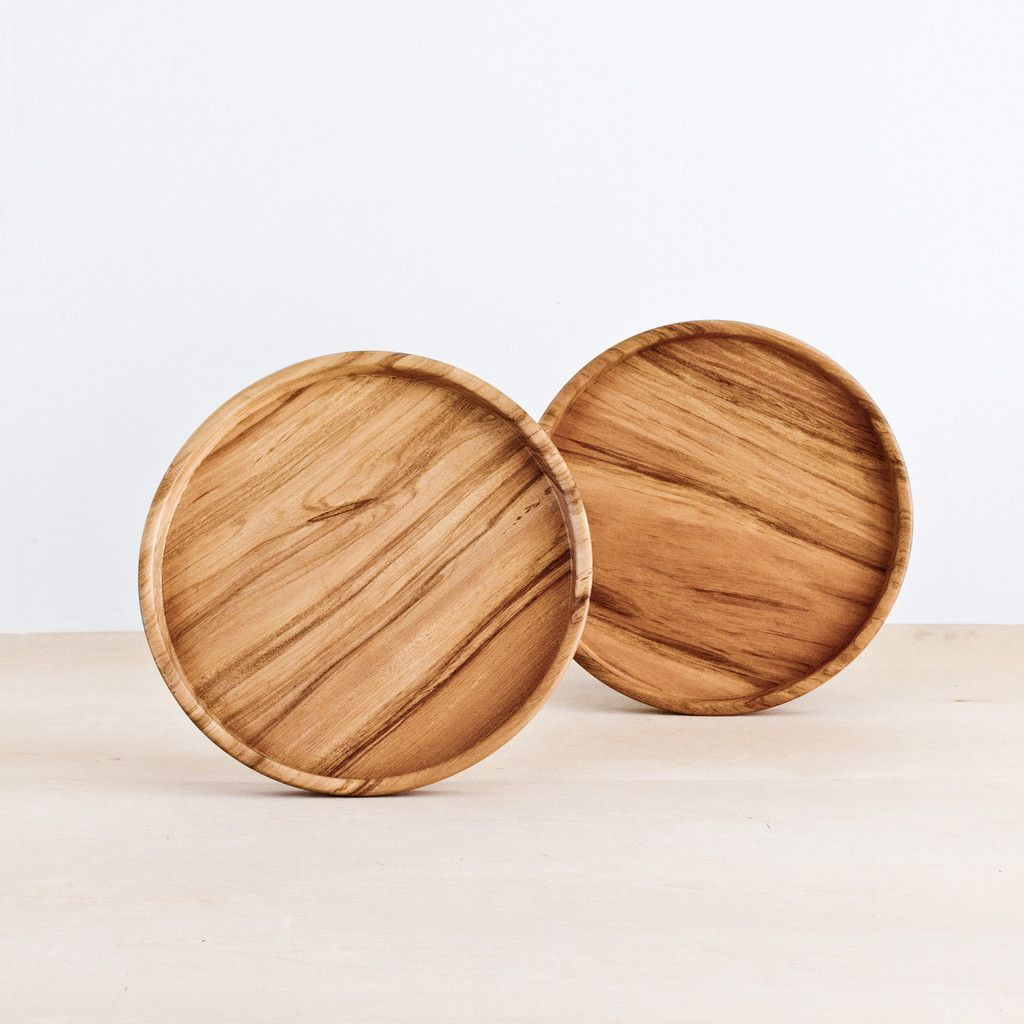 Nyumba round tray the citizenry made in collaboration with rose