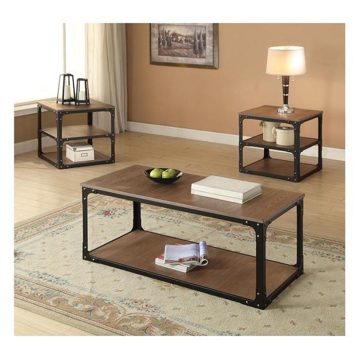 Admirable Kenton Coffee Table In Oak Black Nebraska Furniture Mart Cjindustries Chair Design For Home Cjindustriesco
