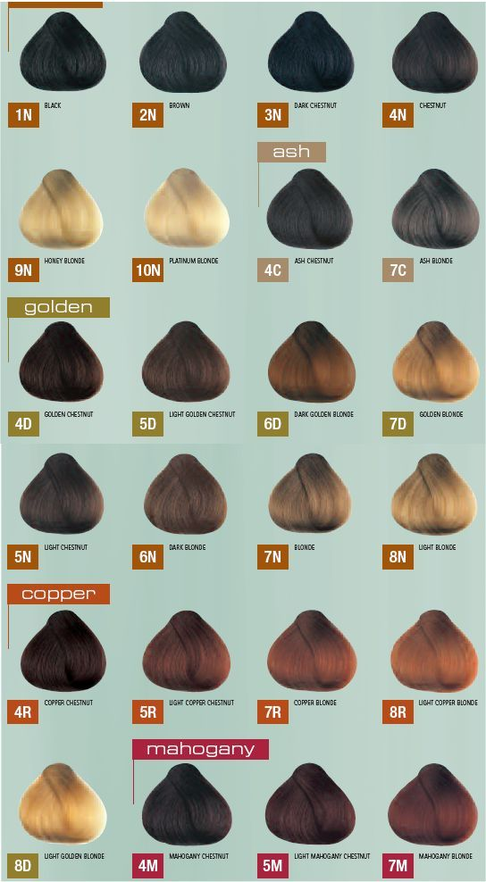 Natural Hair Colors List Google Search Hair Styles