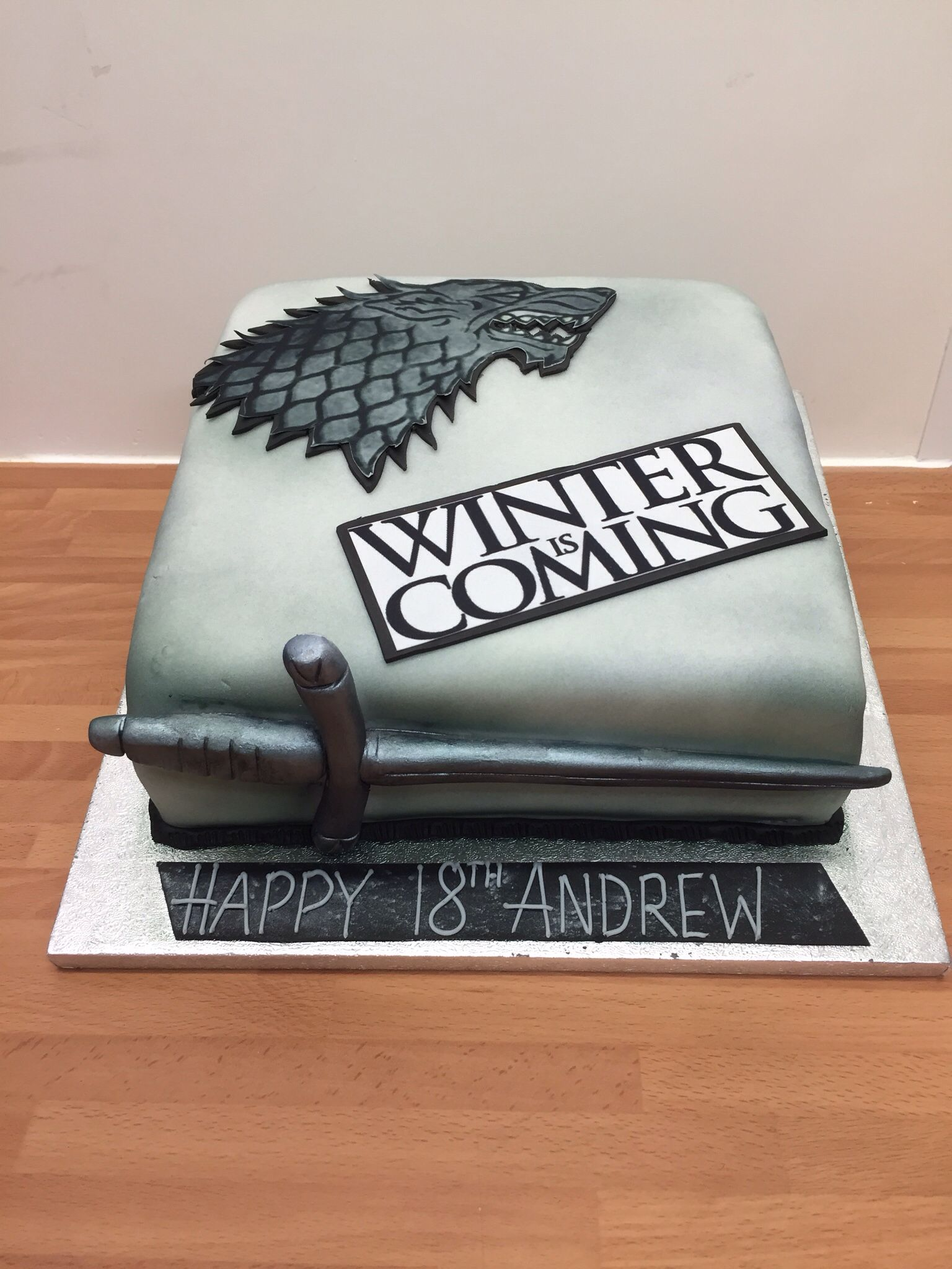 Game Of Thrones Cake Birthday 30th