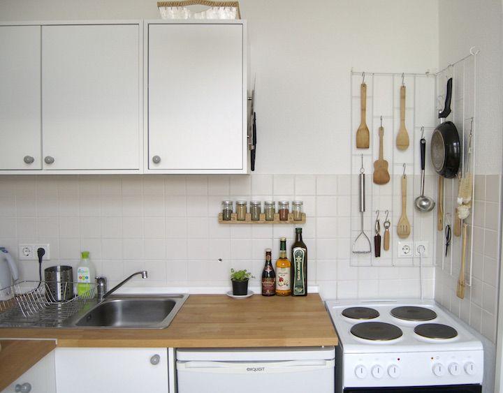 at/least Kleine Räume einrichten 5 Tricks für die Mini-Küche
