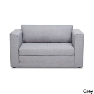 Super Ava Modern Reversible Fabric Loveseat And Sofa Bed Light Spiritservingveterans Wood Chair Design Ideas Spiritservingveteransorg