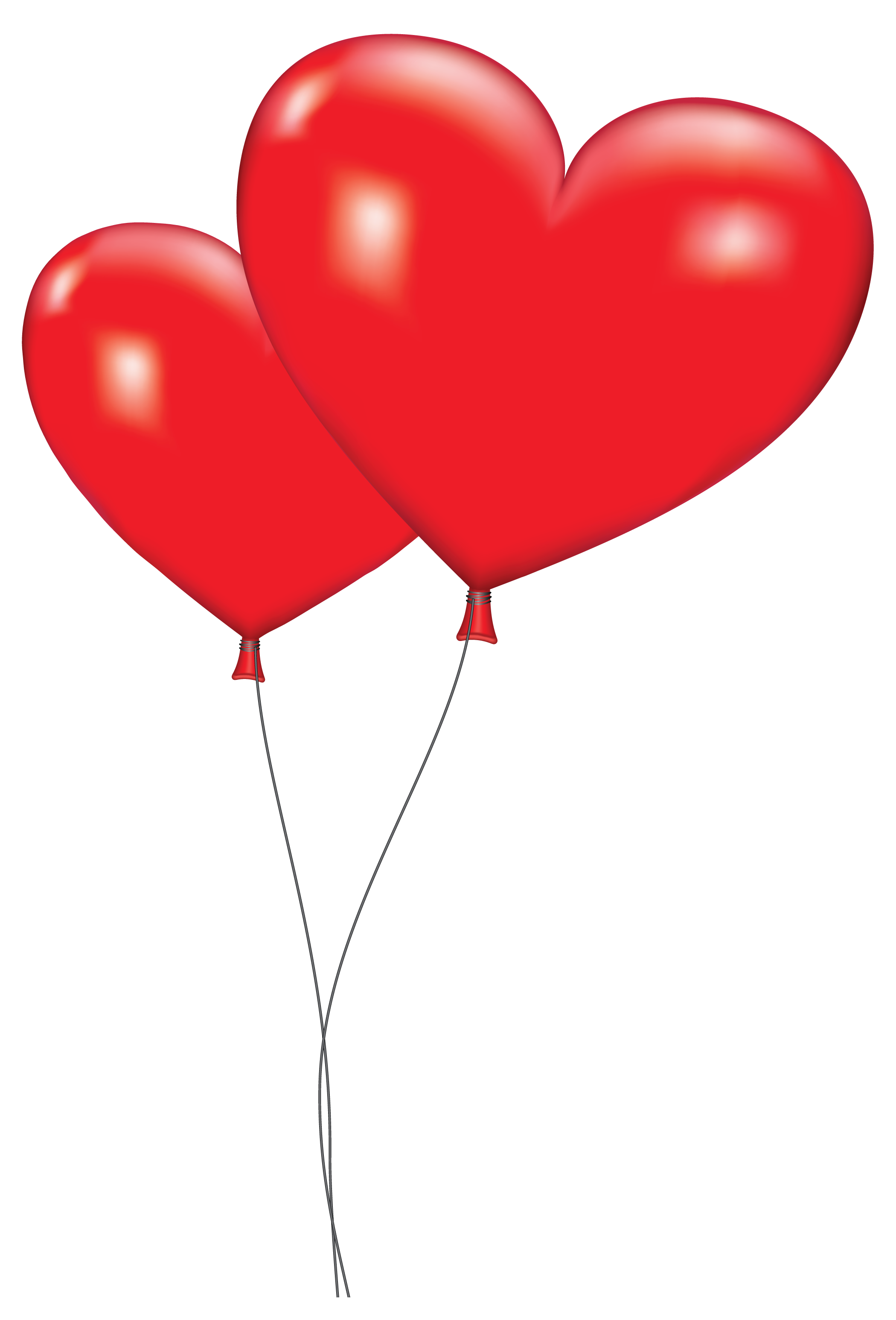 Orange balloon clipart large red heart balloons png - How to make heart balloon ...