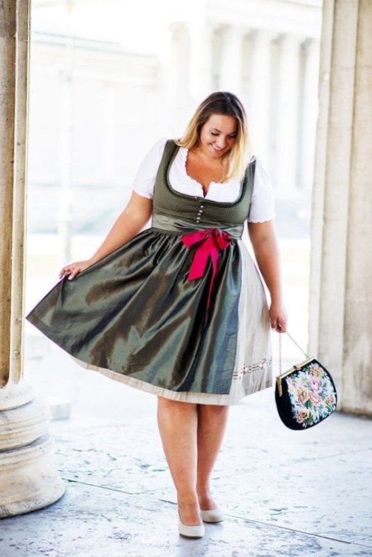 oktoberfest kleidung damen große größen #trend #damenmode