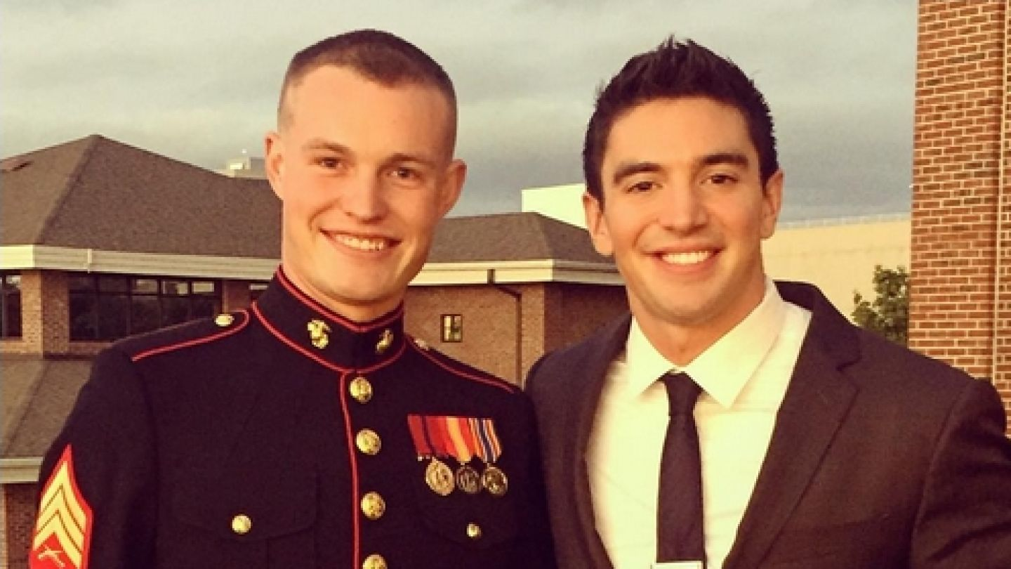 Steve Grand Keeps Promise, Attends Marine Corps Ball With Marine