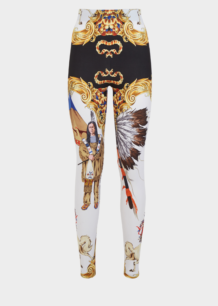 1d632fd323 Native Americans Print Leggings for Women | US Online Store in 2019 ...