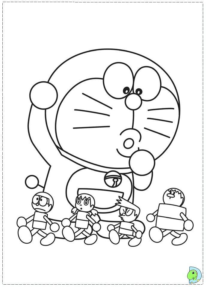 Doraemon coloring page- DinoKidsorg Doraemon Coloring Pages - copy fun coloring pages spongebob