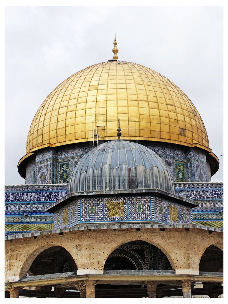 Inside the Dome of Rock   Dome of the Rock II by Mawasi