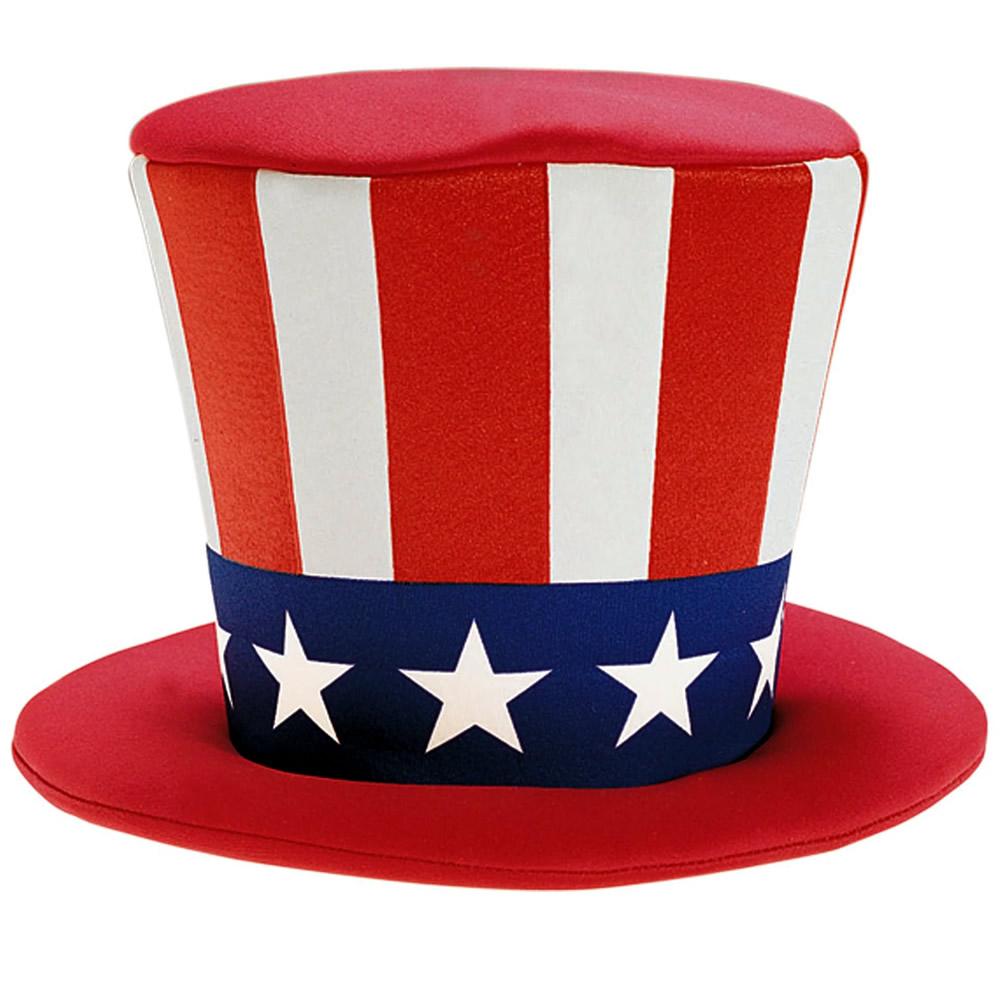 Uncle Sam Patriotic Top Hat 425858 In 2021 Patriotic Tops Patriotic Costumes Top Hat