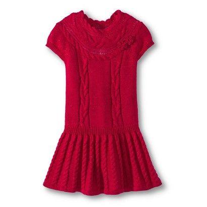 at target infant toddler girls short sleeve cable dress