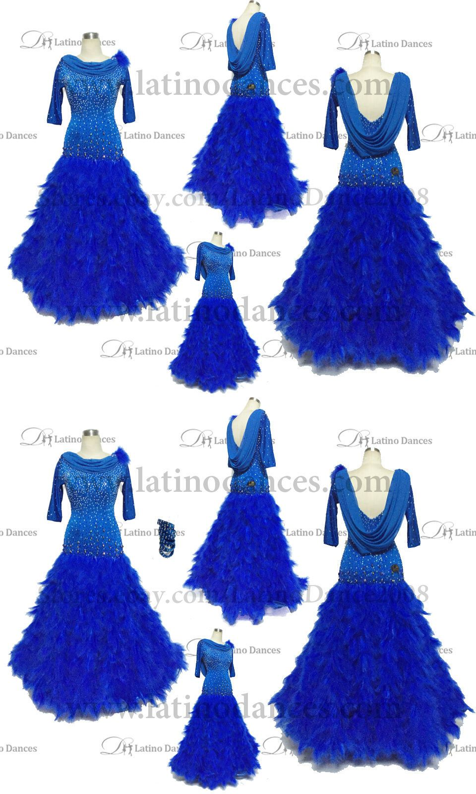 2ef76776c509 Ballroom 152361: Ballroom Standard Waltz Dance Dress With High Quality  Rhinestone St240 -> BUY IT NOW ONLY: $459 on #eBay #ballroom #standard # waltz #dance ...