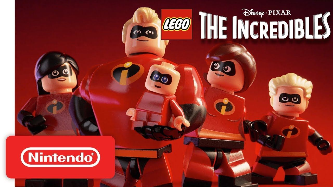 Disney Pixar Lego The Incredibles Announcement Trailer Nintendo