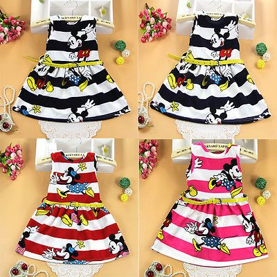 $4.69 (Buy here: https://alitems.com/g/1e8d114494ebda23ff8b16525dc3e8/?i=5&ulp=https%3A%2F%2Fwww.aliexpress.com%2Fitem%2FBaby-Kids-Girls-Princess-Party-Dress-Cartoon-Mouse-Stripe-Summer-Dress-2-7Y-baby-girl-dress%2F32611998933.html ) Baby Kids Girls Princess Party Dress Cartoon Mouse Stripe Summer Dress 2-7Y baby girl dress vestidos freeshipping for just $4.69