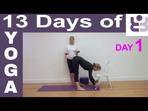 day 1  13 days of yoga iyengar yoga for beginners