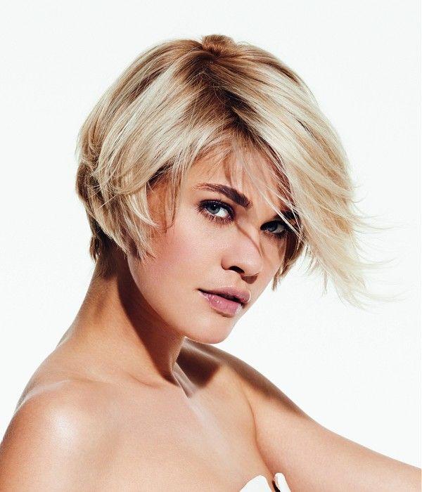 Franck Provost Short Blonde Hairstyles Straight blonde