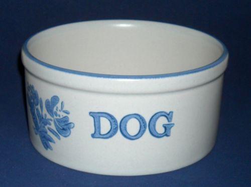 Pfaltzgraff Yorktowne Dog Water Bowl or Food Dish #806 Castle Logo ...