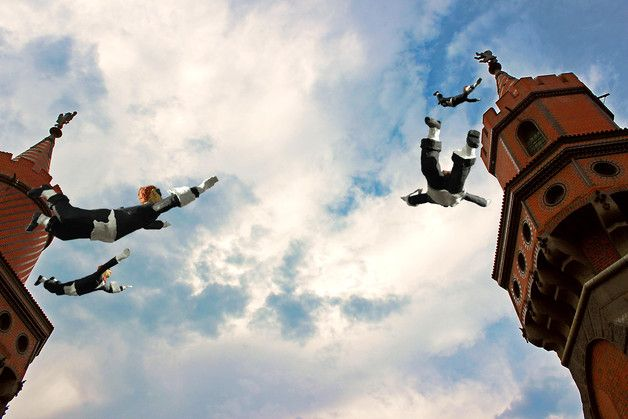 Drucke auf Leinwand - Leinwanddruck: Berlin, Oberbaumbrücke - ein Designerstück von Warwel bei DaWanda