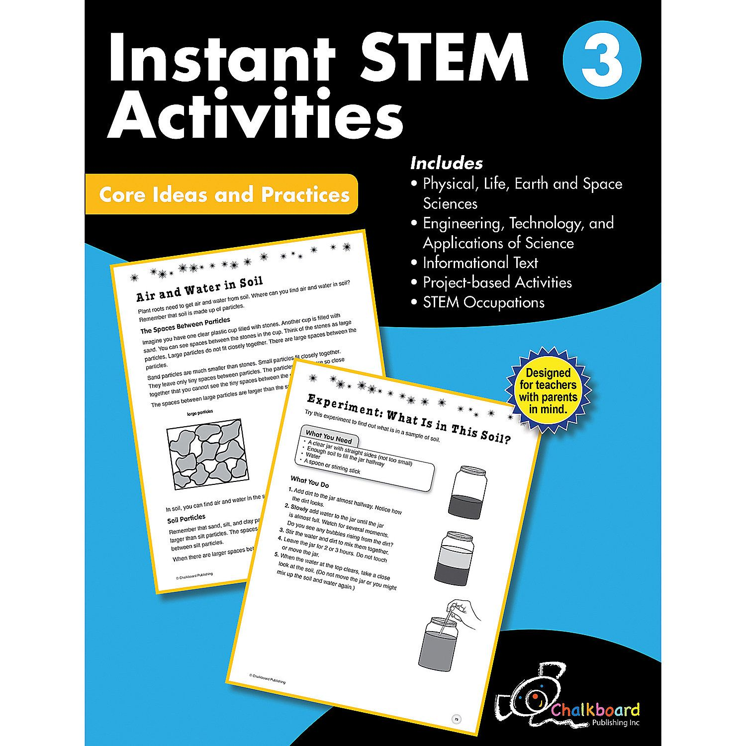 Stem Instant Activities Workbook Grade 3