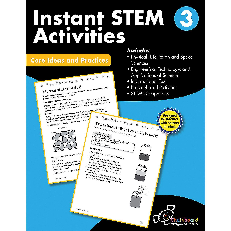 Stem Instant Activities Workbook Grade 3